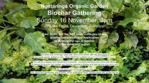 NOG biochar gathering poster
