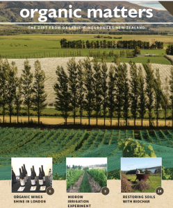 Organic Winegrowers NZ magazine